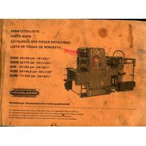 Flr Catalogos Heidelberg De Partes, Operacion Y De Servicio