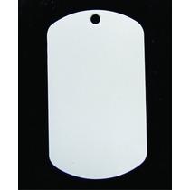 Placa Para Sublimacion Blanca De Doble Cara