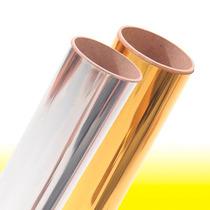 Vinil Textil Metalico Termoadherible Acabado Tipo Espejo Daa