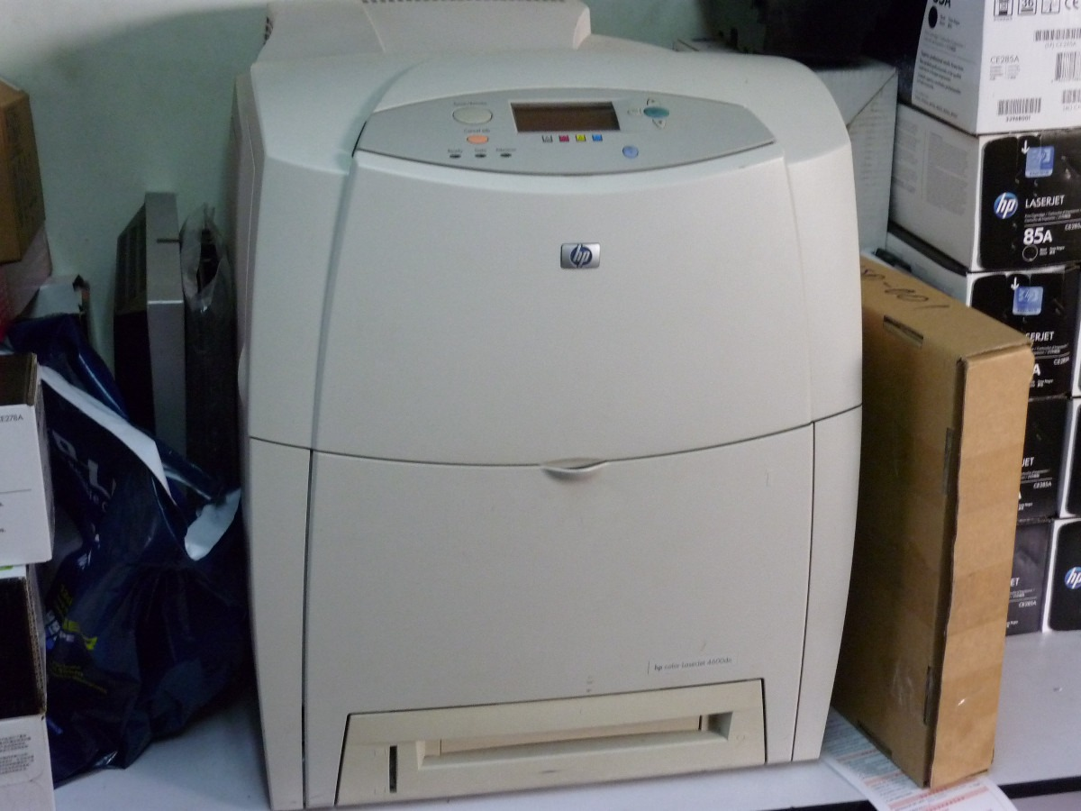 Impresora Hp Laserjet 4600n Color 4 450 00 En