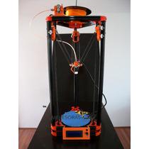 Impresora 3d Delta Kossel + 40m Filamento + Envío Gratis Kit