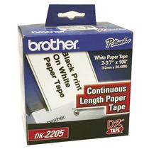 Cinta Para Rotulador Ql570 Brother Bro-etq-dk2205 Upc: 0125