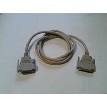 Cable Extencion Para Miniprinter Pos Paralelo Conector Db25