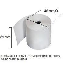 Rollo Papel Termico 2 X 24 Mts P / Portatil Orig. Zebra