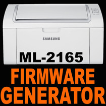 Reset Fix Chip Generador Firmware Ilimitado Samsung Ml-2165