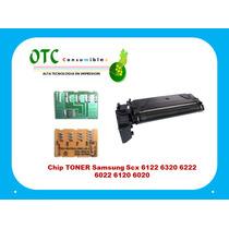 Chip Toner Samsung Scx 6122 6320 6222 6022 6120 6020