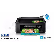 Epson Xp 211 Wi-fi Con Cartuchos Reseteables