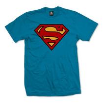 Playera Logo Superman Marca Dc Comics