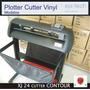 Plotter Corte Vinil Contour Xj24 Sensor Contornos Impresos