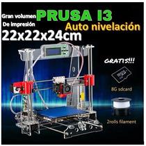 Impresora 3d Prusa I3 Mayor Volumen De Impresión Y Precisión