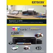 Multifuncional Epson L375 Wifi Tinta Continua P/sublimacion