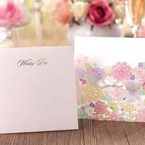 Invitaciones Corte Láser Flores