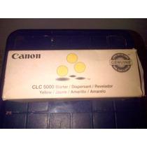 Revelador Para Impresora Canon Clc5000 Original En Colores