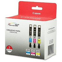 Canon Cli-251xl 3pk 3-ink Value Pack Para Canon Papeles Foto