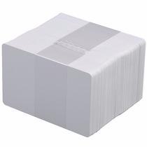 Tarjetas De Pvc Cr80 Blancas Credenciales P/ Imp Zebra Fargo