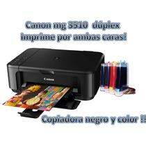 Multifuncional Canon Pixma Mg3510 Con Sistema De Tinta