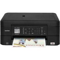 Impresora Brother Mfc J480/485dw + Cartuchos Recarg. + Chips