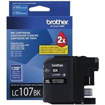 Hermano Impresora Lc107bk Súper Alto Rendimiento Cartucho De