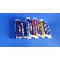 Juego Cartuchos Rellenables Para Epson T631 C67 C87 Vacios