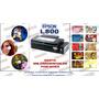 Epson L800 Modificada 120 Discos 400 Credencial Pvc X Hora