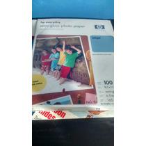 Papel Semi Gloss Fotografico Carta 100 Hojas