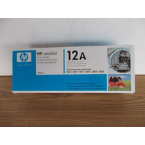 Cartucho Para Impresora Hp Laser Jet 12a #a253