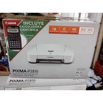 Impresora Canon Ip2810 Mérida 2 Cartuchos