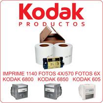 Kit De 1140 Fotos Para Kiosco Kodak 6800; 6850; 605; G4; G3