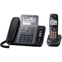 Telefono Panasonic Fijo Con Ext Inalambrica 2 Lineas Tg9471