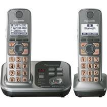 Telefono Panasonic Bluetooth 2 Auriculares Teclas Grandes