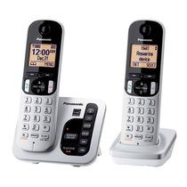 Telefono Inalambrico Panasonic Doble Dect 6.0 Tgc222