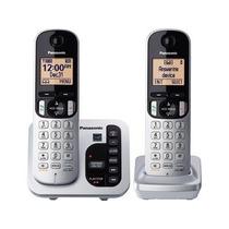 Set 2 Telefonos Panasonic Inalambricos Contestadora C222 Msi