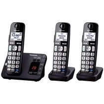 Kit 3 Telefonos Inalambricos Panasonic Dect 6.0 Tge233b Msi