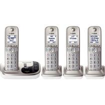 Kit 4 Telefonos Panasonic Inalambricos Contestadora 224n Msi