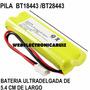 Pila Para Telefonos Uniden Bt18443 Batería Uniden Bt28443