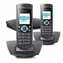 Telefono (2) Inalambrico Dect Linea Tradicional / Skype