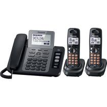 Telefono Panasonic Fijo Con Ext Inalambricas 2 Lineas Tg9472
