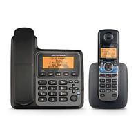 Telefono Fijo Motorola Con 1 Extensión Inalambrica Bluetooth