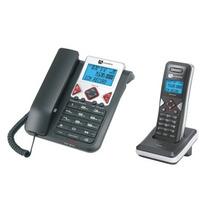 Teléfono Alambrico Con Terminal Inalambrica Ax8101am Audiovo