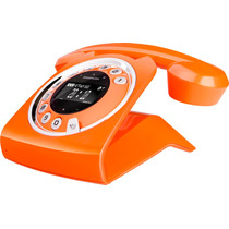 Telefono Inalambrico Retro Dect Modelo Sixty, Vintage, Nuevo