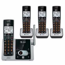 Telefonos Inalambricos At&t Cl82463 4 Handsets Envio Gratis