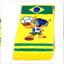Fuleco-bufanda Copa Mundial Fifa Brasil 2014-flete Gratis