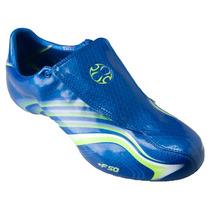 T 27.5mx Adidas Upper F50.6 Tunit Ultraligera Azul Verde Gym