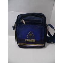 Bolso Mensajero Para Caballero Original Pumas A Solo $195