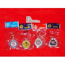 Llaveros De Futbol Escudos De Pumas America Chivas Azul