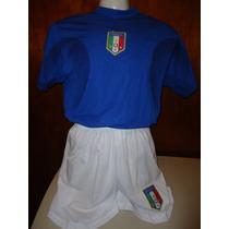 Uniforme Genérico Futbol Selección Nacional Italia Talla G