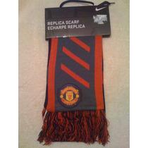 Bufanda Del Manchester United Marca Nike Nueva Y Original