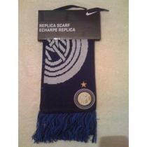 Bufanda Del Inter De Milan Nike Nueva Y Original