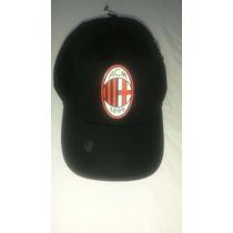 Gorra - Cachucha Original Del Club A.c. Milan De Italia
