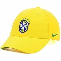 Gorra Confederacion Brasileña De Futbol Ajustable Nike Ni323